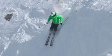 Adult Demo Skis