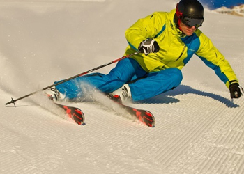 Groomed Snow Demo Skis
